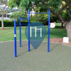 Brisbane - Outdoor Fitness trail .- Merthyr Park