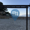 Calvià - Exercise Park - Monkey bar at the beach