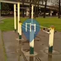 окленд - Воркаут площадка - Eastshore Park