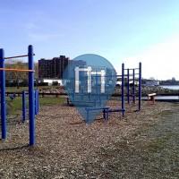 Bayonne (New Jersey)  - Street Workout Park - Veterans Park