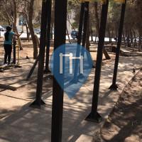 Amman - Exercise Park - Sport city outdoor gym