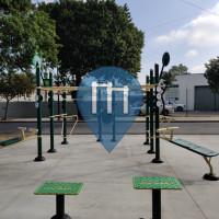 Calisthenics-Stationen - Huntington Park - Bodyweight Fitness Salt lake Park
