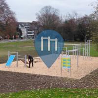 Bottrop - Exercise Park - Playparc Calisthenics Park Jahnstadion