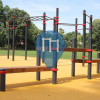 Mannheim-Oststadt- Parco Calisthenics - Unterer Luisenpark - Kenguru.PRO