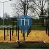 Kępno - Street Workout Park - Stadion Miejski
