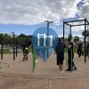 Outdoor Pull Up Bars - Ibiza Town - Parque de Calistenia & Street workout Ibiza Town