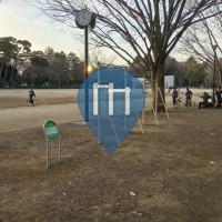 Tokyo - Calisthenics Geräte - Inokashira Park Athletic Field