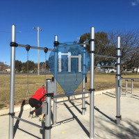 Orange City (NSW) - Outdoor Exercise Park - Moulder Park