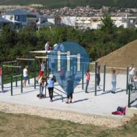 Solin - Street Workout Park - Kralijica Jelena Park