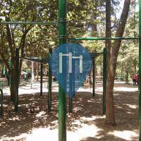 Mexiko-Stadt - Outdoor Fitnessstudio - Pista del Bosque de Tlapan