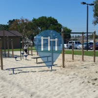Cerritos - Воркаут площадка - Liberty Park