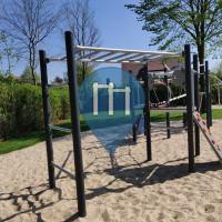 Monkey Bar  - Lathen - Hangelleiter Mehrgenerationenspielplatz