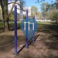 Moscow - Outdoor Pull Up Bars Moscow - Izmaylovsky Park