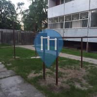 Riga - Parque Outdoor Fitness - Koku iela