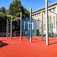 Ixelles - Calisthenics Geräte - Stade Albert Demuyter