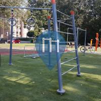 Street Workout Park - Groningen - Groningen Molukkenplantsoen