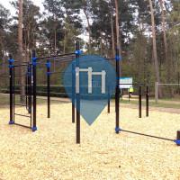 Dessel - Parque Calistenia - Sportpark Brasel (Finse Piste)