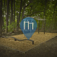 Montreal - Outdoor Fitness Trail - Parc Yuile