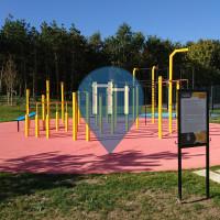 普瓦西 - 徒手健身公园 - Rue des Monts Chauvets