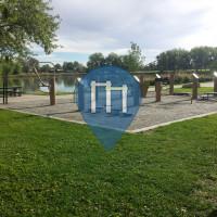 Street Workout Park - Denver - Exercise Stations Huston Lake Park