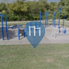 Wichita - Outdoor Exercise Station - Botanica Gardens