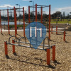 Adelaide - Street Workout Equipment - Semaphore Park Beach