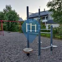 Перекладины под открытым небом - Лахти - Tuomimäenpuisto fitness corner - Tuomimäenpuisto fitness corner