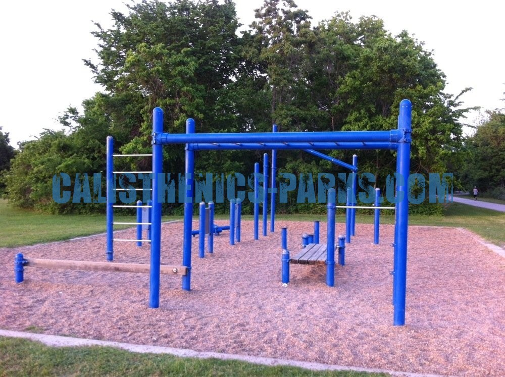 Houston Texas Exercise Stations Cullen Park United