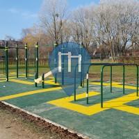 Belfort - Street Workout Park - Kenguru.PRO - Sentier de la Roselière
