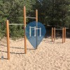 Parque Calistenia - Riga - Outdoor Fitness Park Vecaki beach