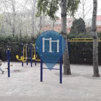 Peking - Outdoor-Fitness-Sportanlage - Wangzhuang Park