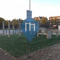 Rotterdam - Parkour Anlage - Schuttersveld