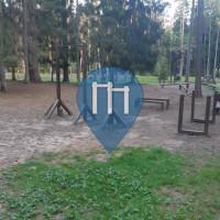 уличных спорт площадка - Tīnūži - Лесная площадка