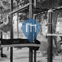 Paris - Street Workout Park - Parc de Valmy
