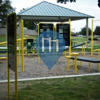 Forth Worth (Texas) - Outdoor Workout Area - Candleridge Park