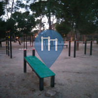 Madrid - Street Workout Park - Parque de Retiro