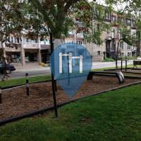 Montréal - уличных спорт площадка - Place Henri-Dunant