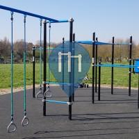 Parque Calistenia - Londres - Outdoor Fitness Norbury Park