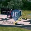 Penparcau - Outdoor Gym - adiZone park Aberystwyth