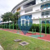 Singapore - Outdoor Exercise Park  - Marine Parade