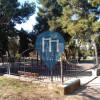 Valencia - Barra per trazioni all'aperto - Parco Calisthenics
