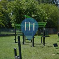 Parque Calistenia - Anzola dell'Emilia - Outdoor Fitness Campetto di via pertini