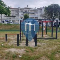 Street Workout Anlage - Rio de Loba - Calisthenics Gym Jardim do Bairro da Quinta das Lameiras