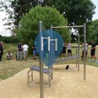 Poitiers - Воркаут площадка - Les Pres Mignons