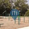 Jacksonville - Street Workout Park - Garden City Elementary School Park