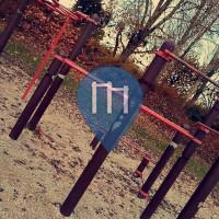 Charleville-Mézières - Outdoor Fitness Station - Place Gaston Deferre