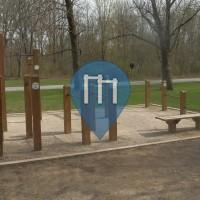 Reynoldsburg - Street workout Park -Blacklick Woods Metro Park