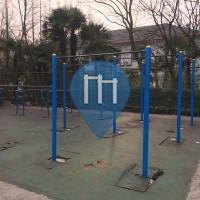 Shanghai - Parque Calistenia - East China Normal University
