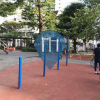 Tokyo (Ōta) - Barra per trazioni all'aperto - Nakakamata Park