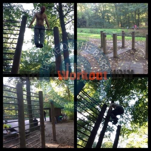 fitness trail at b rgerpark bremen germany spot. Black Bedroom Furniture Sets. Home Design Ideas
